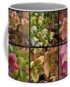 Lenten Rose Collage Coffee Mug