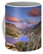 Lenticular Clouds At The Red Sunset Coffee Mug