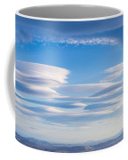 Lenticular Clouds Forming In The Troposphere Coffee Mug