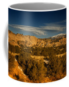 Lenticular Clouds Near Tesuque Pueblo Nm Coffee Mug