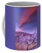 Lenticular Clouds Over Sierra Nevada Coffee Mug