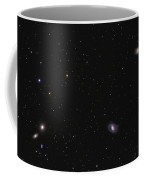 Leo I Galaxy Cluster Showing Messier Coffee Mug