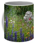 Leo In The Garden Coffee Mug