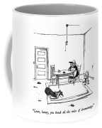 Leon, Honey, You Break All The Rules Coffee Mug