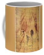 Leonardo: Legs, C1508 Coffee Mug
