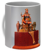 Leopard And The Serpent Coffee Mug