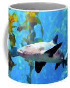 Leopard Shark Watercolor Coffee Mug