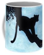 Leopard - Silhouette Coffee Mug