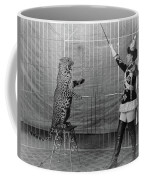Leopard Trainer, C1906 Coffee Mug