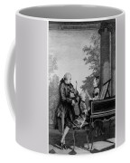 Leopold Mozart And His Two Children Coffee Mug
