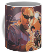 Leroi Moore Purple And Orange Coffee Mug