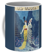 Les Modes Coffee Mug by Georges Barbier