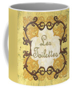 Les Toilettes Coffee Mug by Debbie DeWitt
