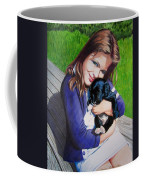 Leslie And Sergeant Coffee Mug