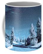 Let It Snow Blue Version Coffee Mug