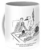 Let The Record Show Coffee Mug