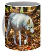 Let The Timber Wolf Live Coffee Mug by John Haldane