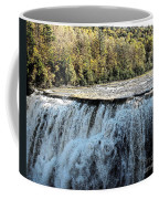 Letchworth State Park Middle Falls In Autumn Coffee Mug