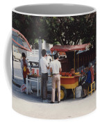 Lets Do Lunch Mexico Series By Tom Ray Coffee Mug