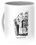 Let's Go Someplace Where I Can Talk Coffee Mug