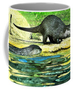 Lets Play And Swim Coffee Mug