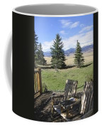 Let's Sit And Talk Awhile By Yellowstone Coffee Mug