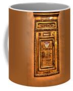 Letter Box Coffee Mug