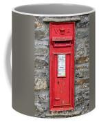 Victorian Red Letter Box Coffee Mug