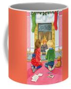 Letter To Father Christmas Coffee Mug by Lavinia Hamer