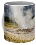 Letting Off Steam - Yellowstone Coffee Mug