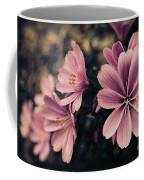 Lewisia Flowers - 7 Coffee Mug