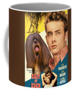 Lhasa Apso Art - East Of Eden Movie Poster Coffee Mug