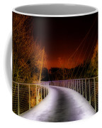 Liberty Bridge At Night Coffee Mug