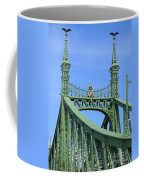 Liberty Bridge Budapest Coffee Mug
