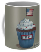 Liberty Cupcake Coffee Mug