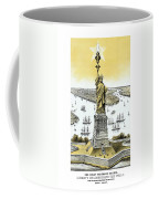 Liberty Enlightening The World  Coffee Mug by War Is Hell Store