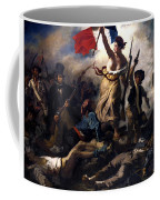 Liberty Leading The People During The French Revolution Coffee Mug