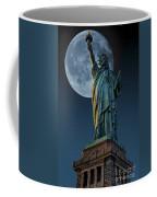 Liberty Moon Coffee Mug by Steve Purnell