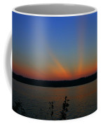 Liberty Sunset At West Thompson Lake  Coffee Mug