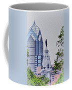 Liberty Place And City Hall Coffee Mug
