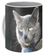 Library Cat Coffee Mug