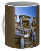 Library Of Celsus Coffee Mug by David Smith
