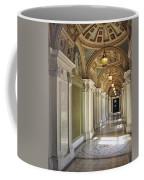 Library Of Congress Hallway Washington Dc Coffee Mug