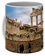 Library On The Pergamum Acropolis-turkey Coffee Mug