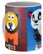 License Plate Art Jungle Animals Series 1 Coffee Mug