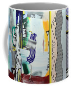 Lichtenstein's Painting With Statue Of Liberty Coffee Mug