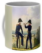 Lieutenants, Plate 1 From Costume Coffee Mug