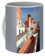 Life Boats 01 Queen Mary Ocean Liner Port Long Beach Ca Coffee Mug