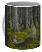 Life In The Woodland Coffee Mug by Veikko Suikkanen