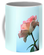 Life Is All Roses And Blue Sky Coffee Mug